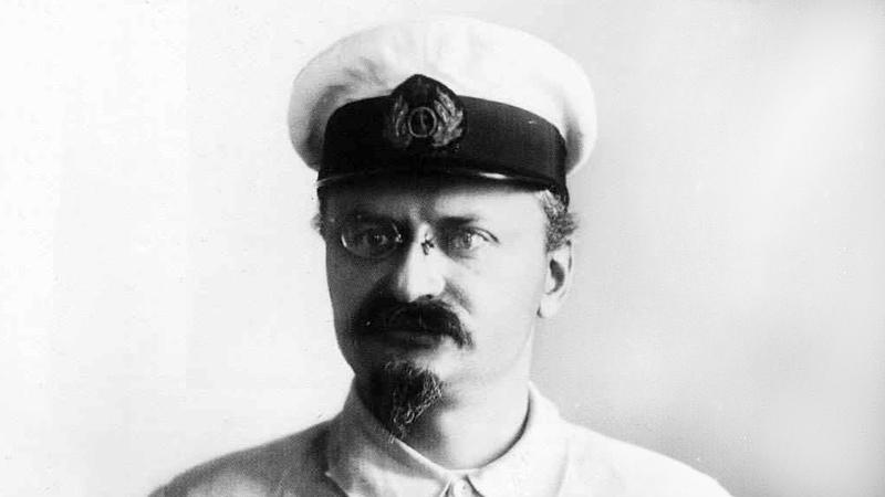 1917 год. Лев Троцкий