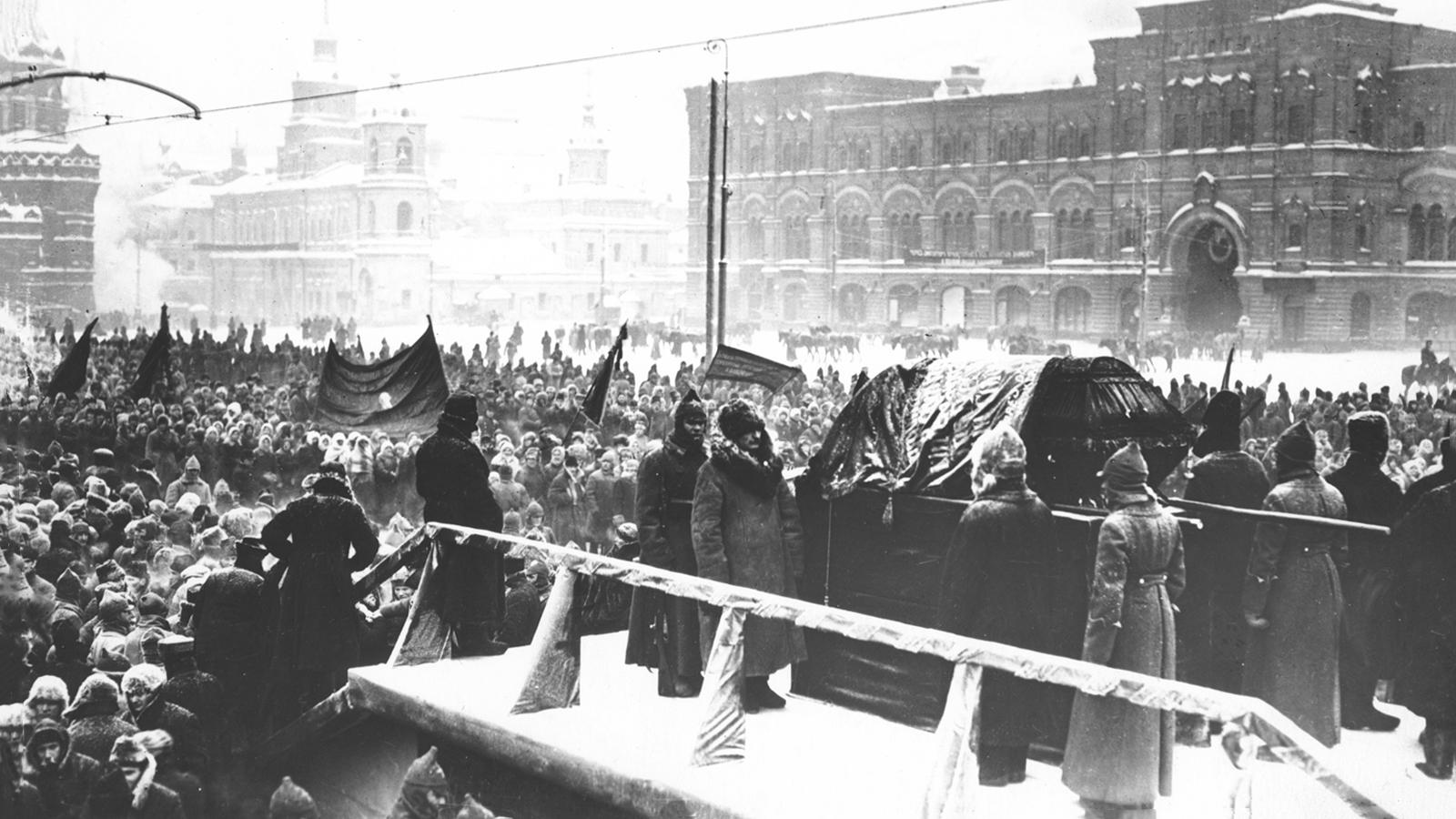 1924: Смерть Владимира Ильича Ленина