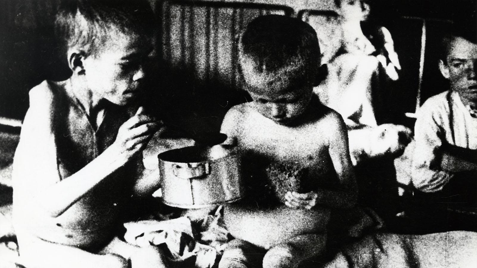 1921: Голод в Поволжье