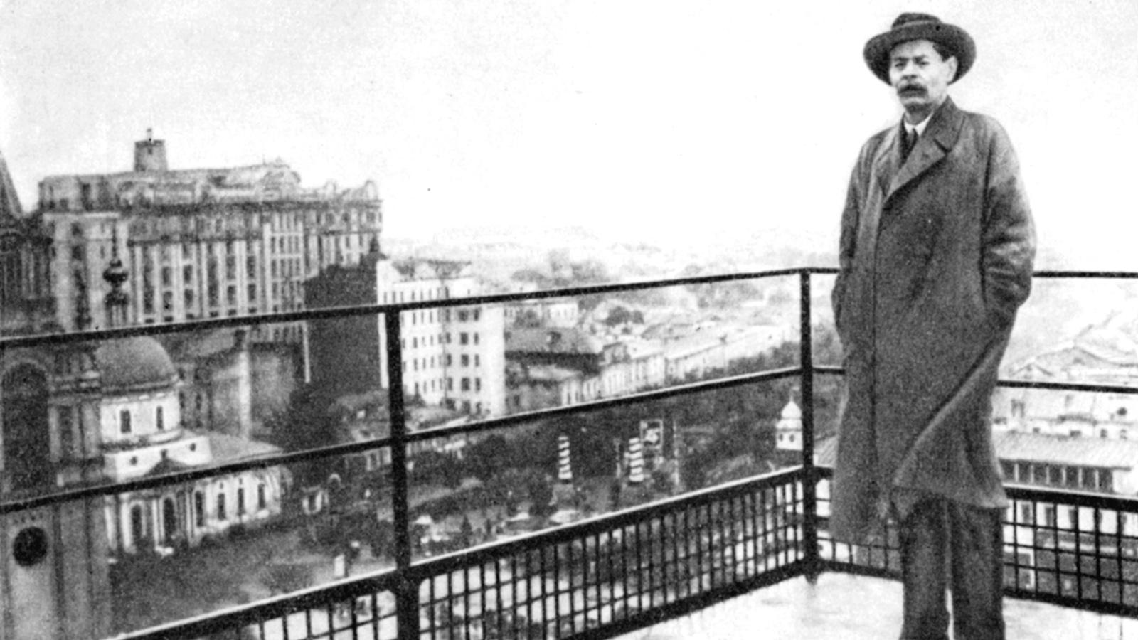 1928 Год. Возвращение Горького в Советский Союз