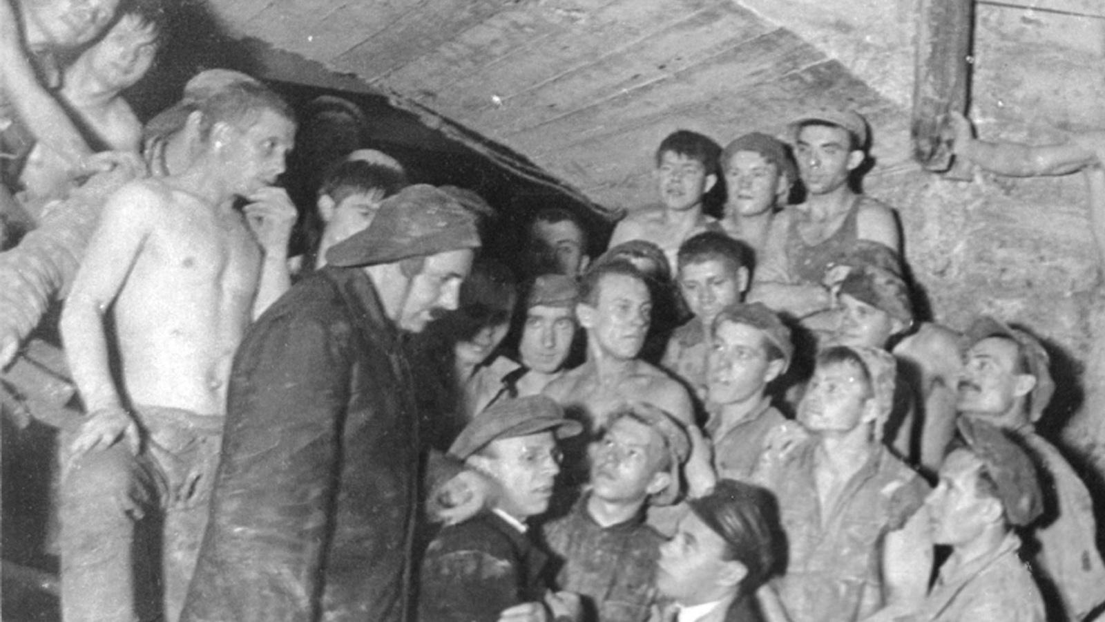 1935 Год. Открытие Московского метрополитена