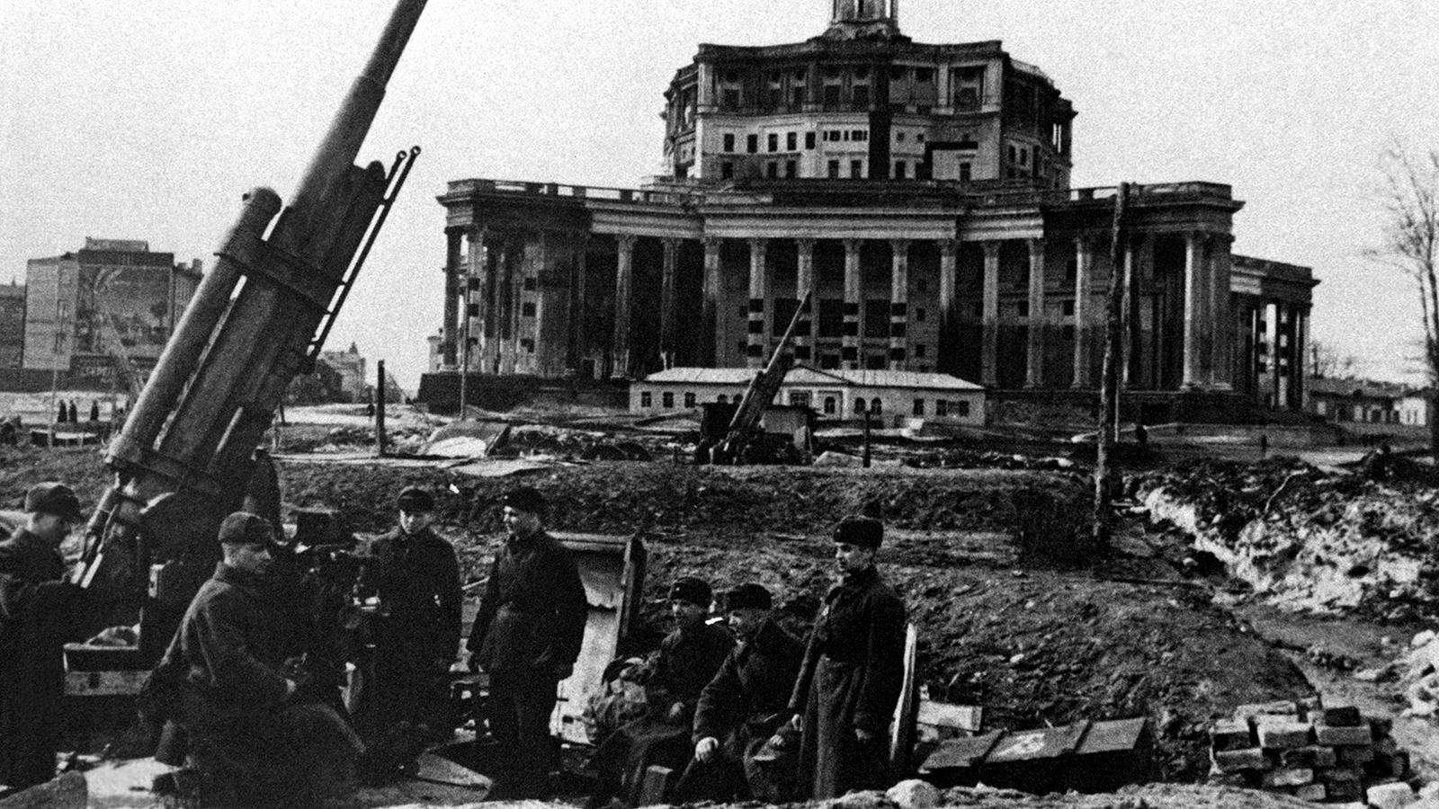 1942 Год. Оборона Москвы. Фото: архив