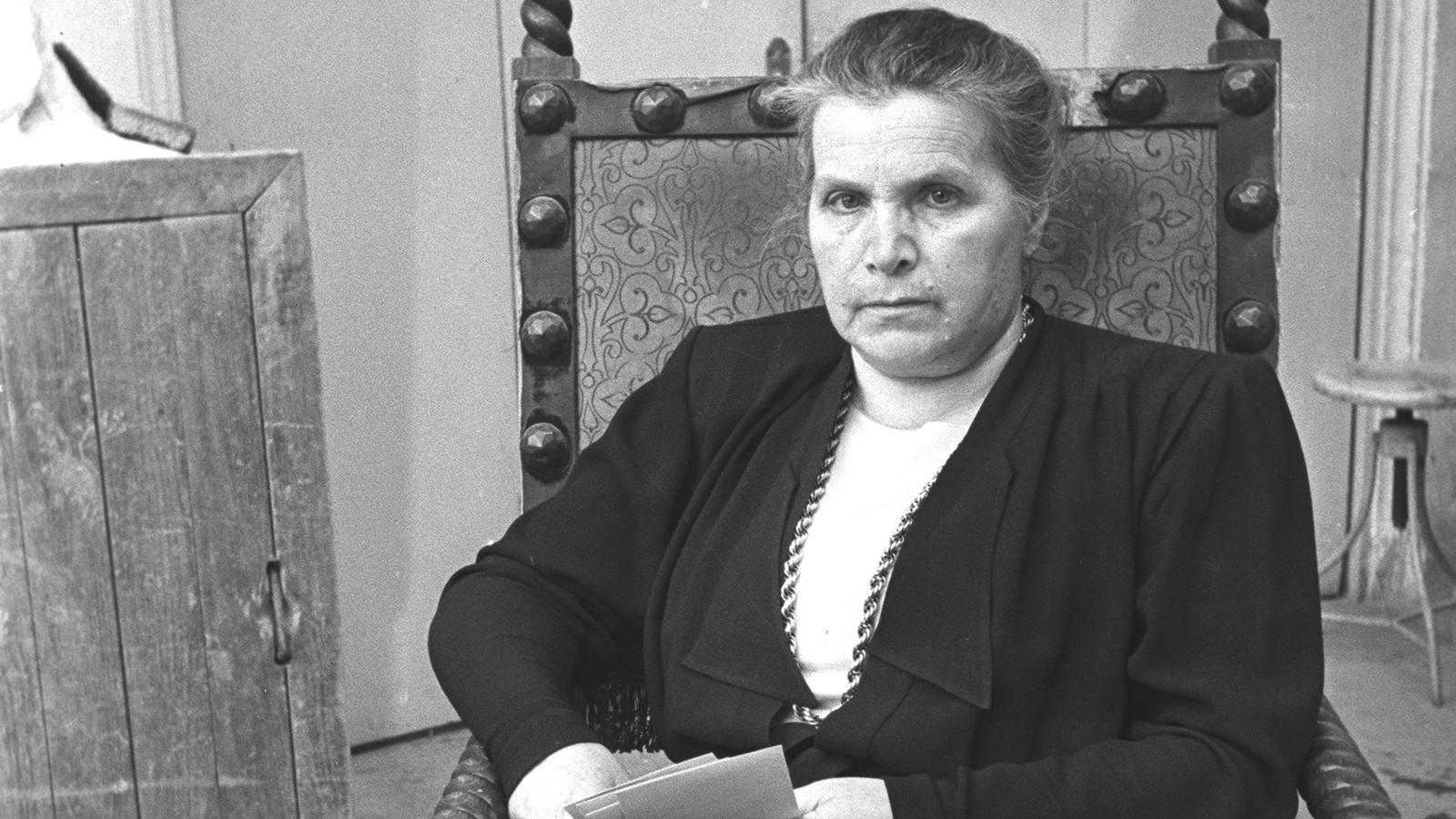 1939 Год. Вера Мухина