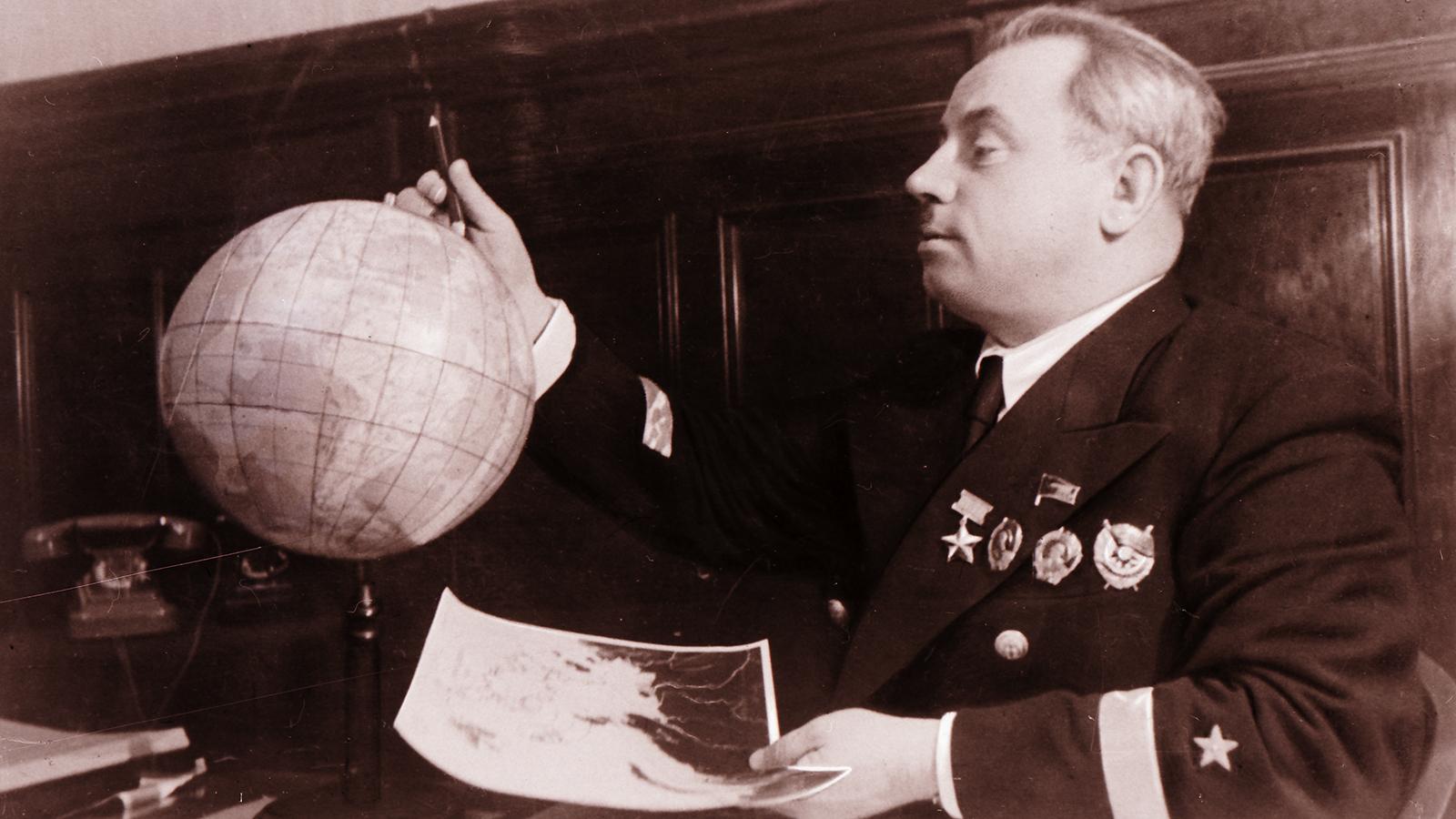 1940 Год. Иван Папанин