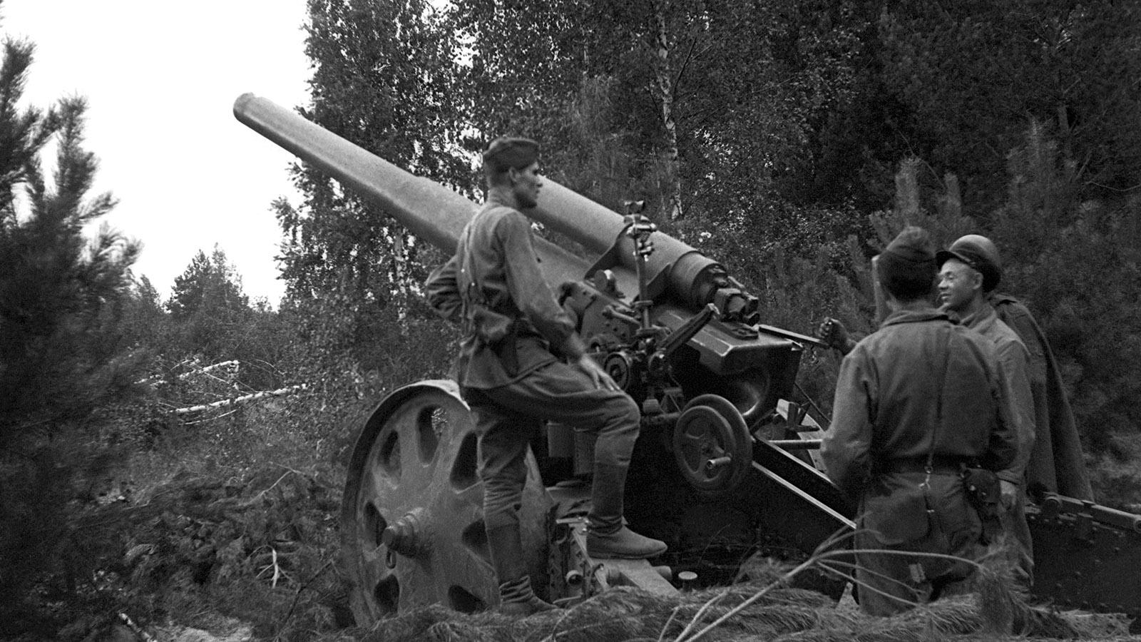 Картинка артиллерия времен вов