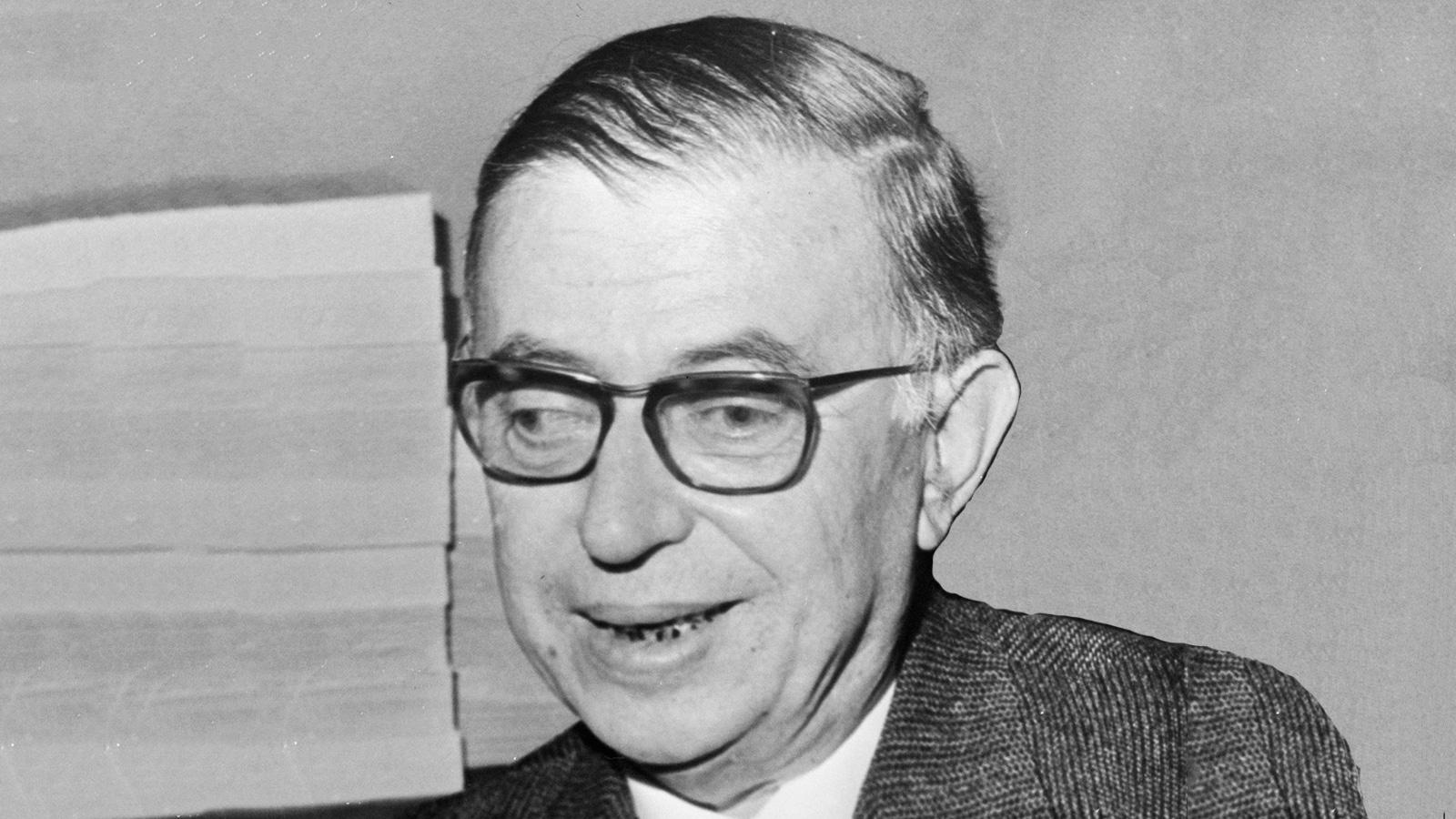 1952 год. Жан-Поль Сартр