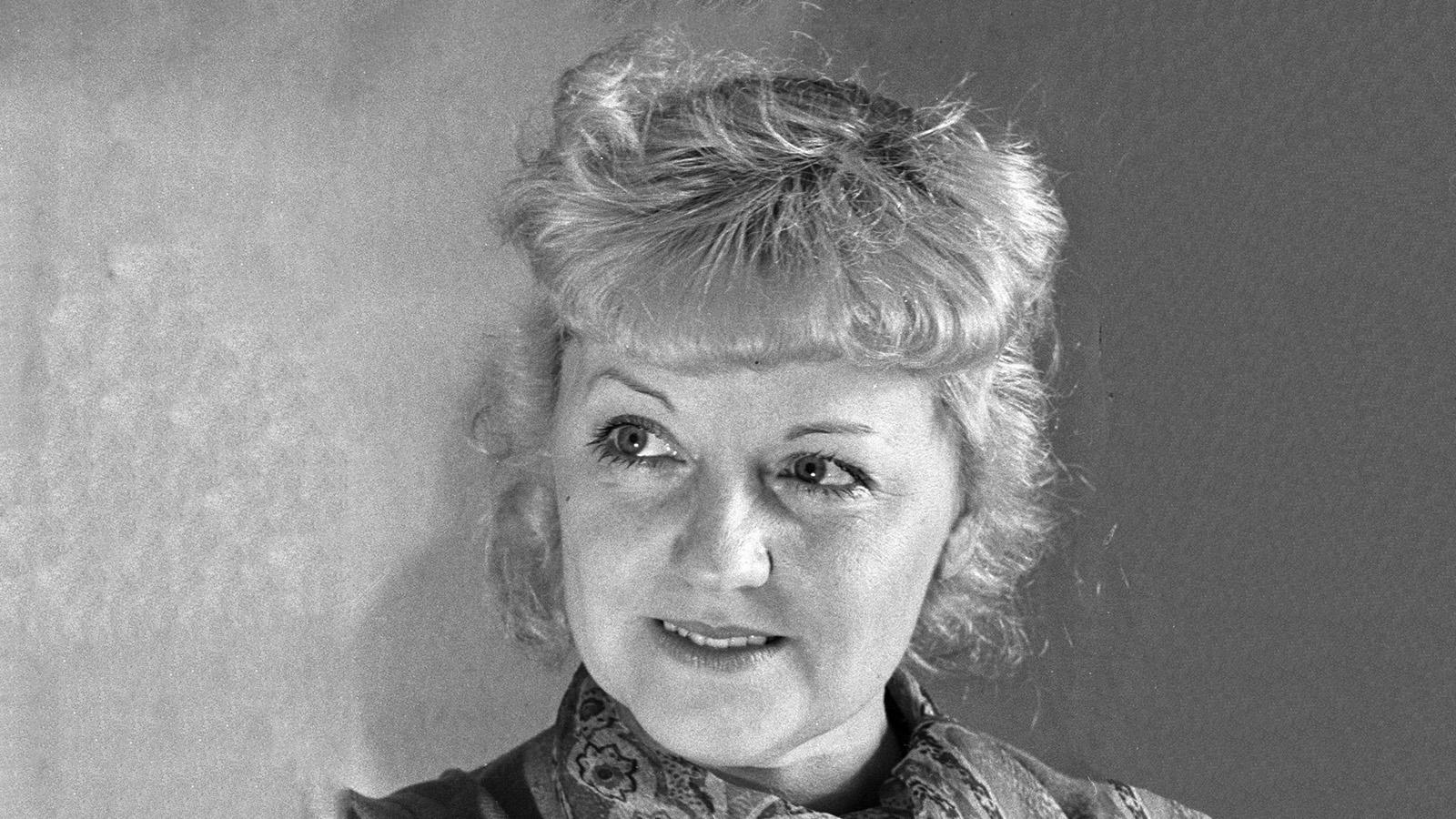 1954 год. Мария Бабанова