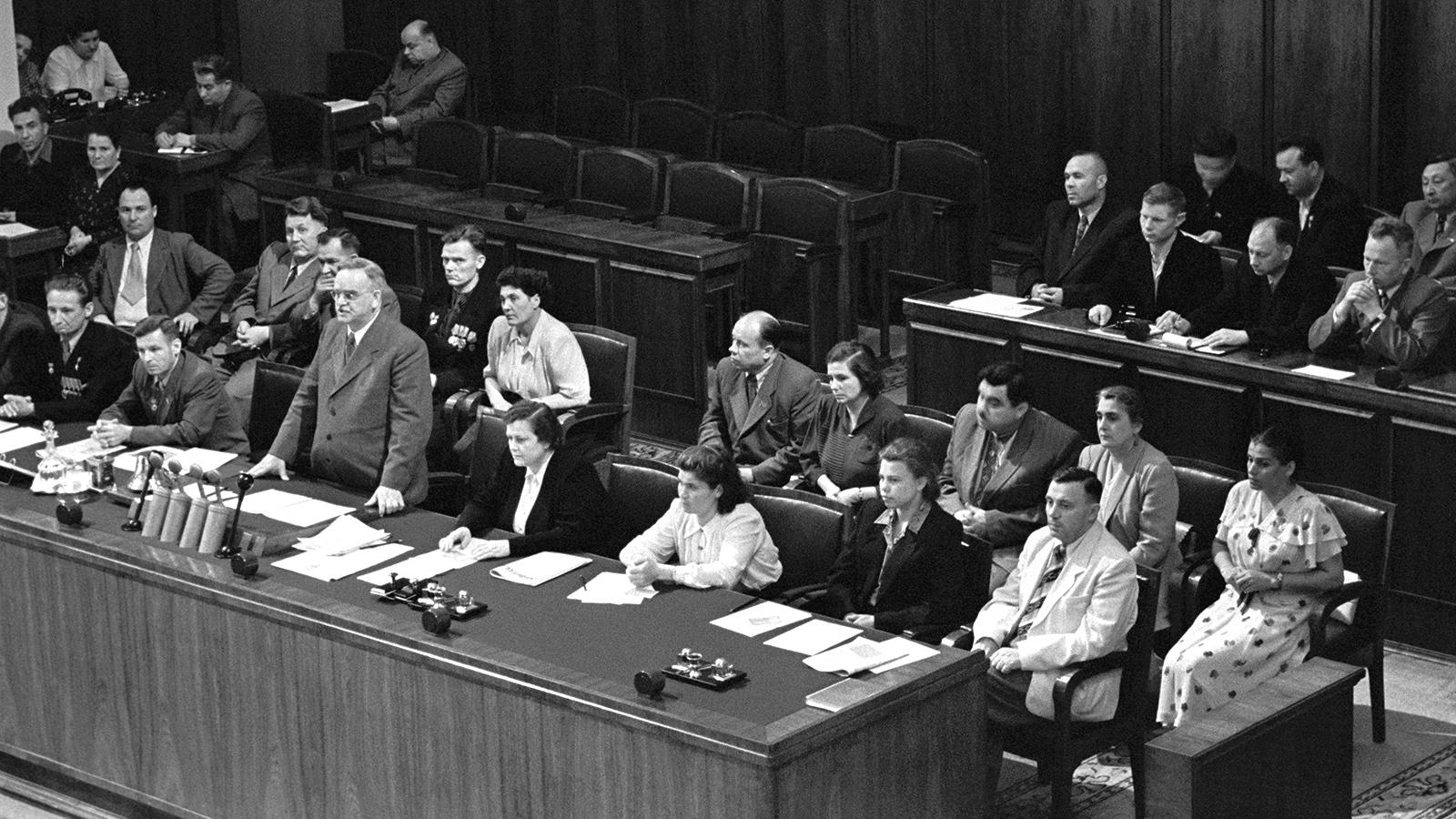 1952 год. Верховный Совет СССР