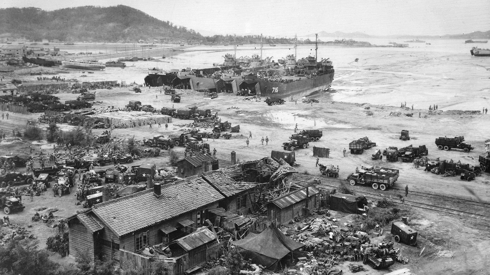 1950 год. Война в Корее