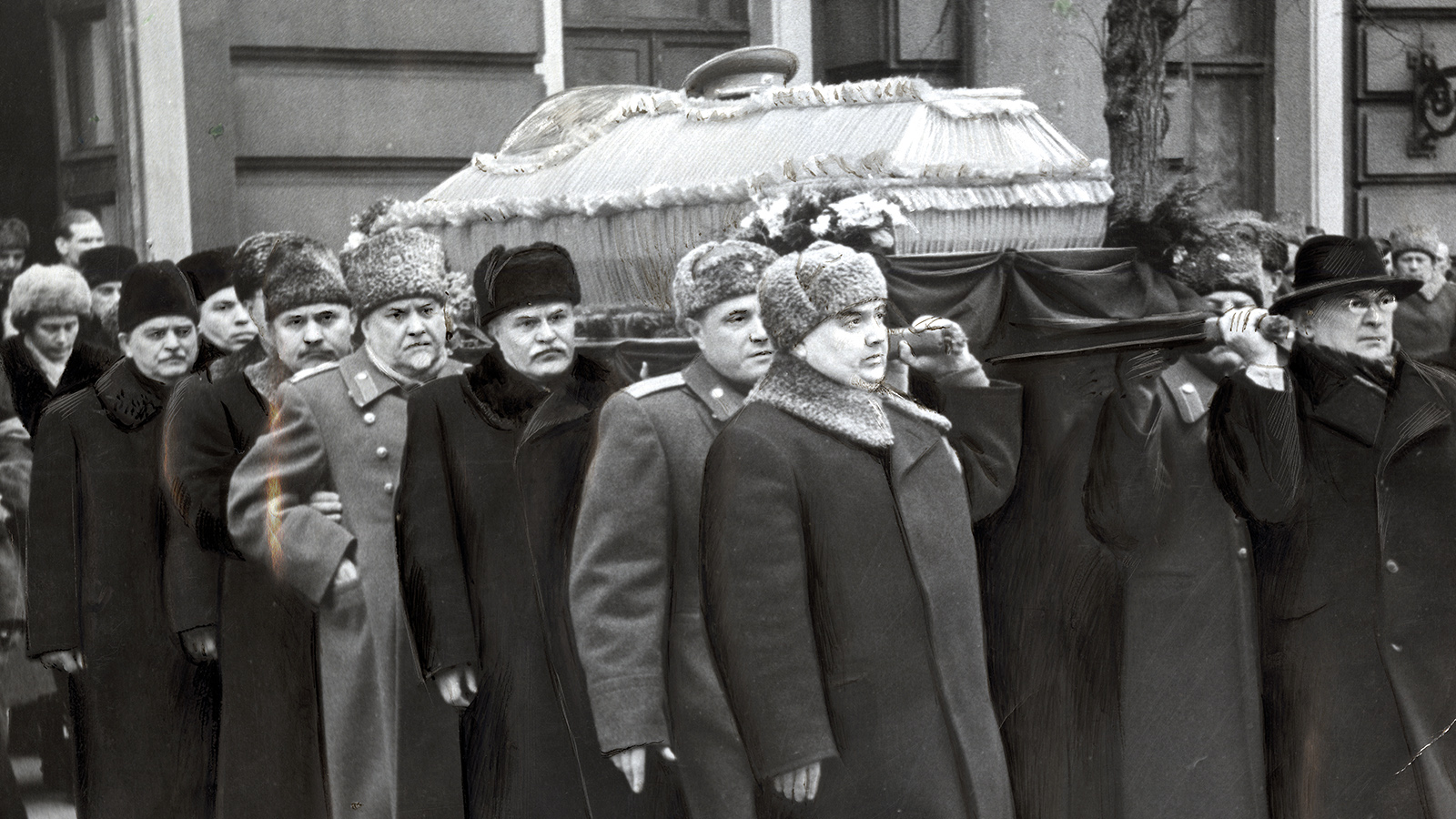 1953 год. Похороны Сталина
