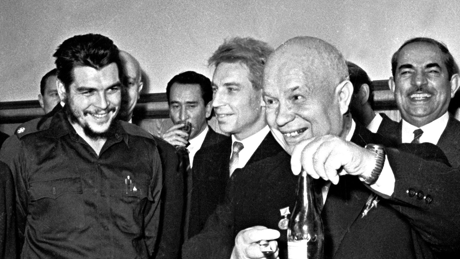 1962 год, Москва. Эрнесто Чегевара на приеме у Никиты Хрущева