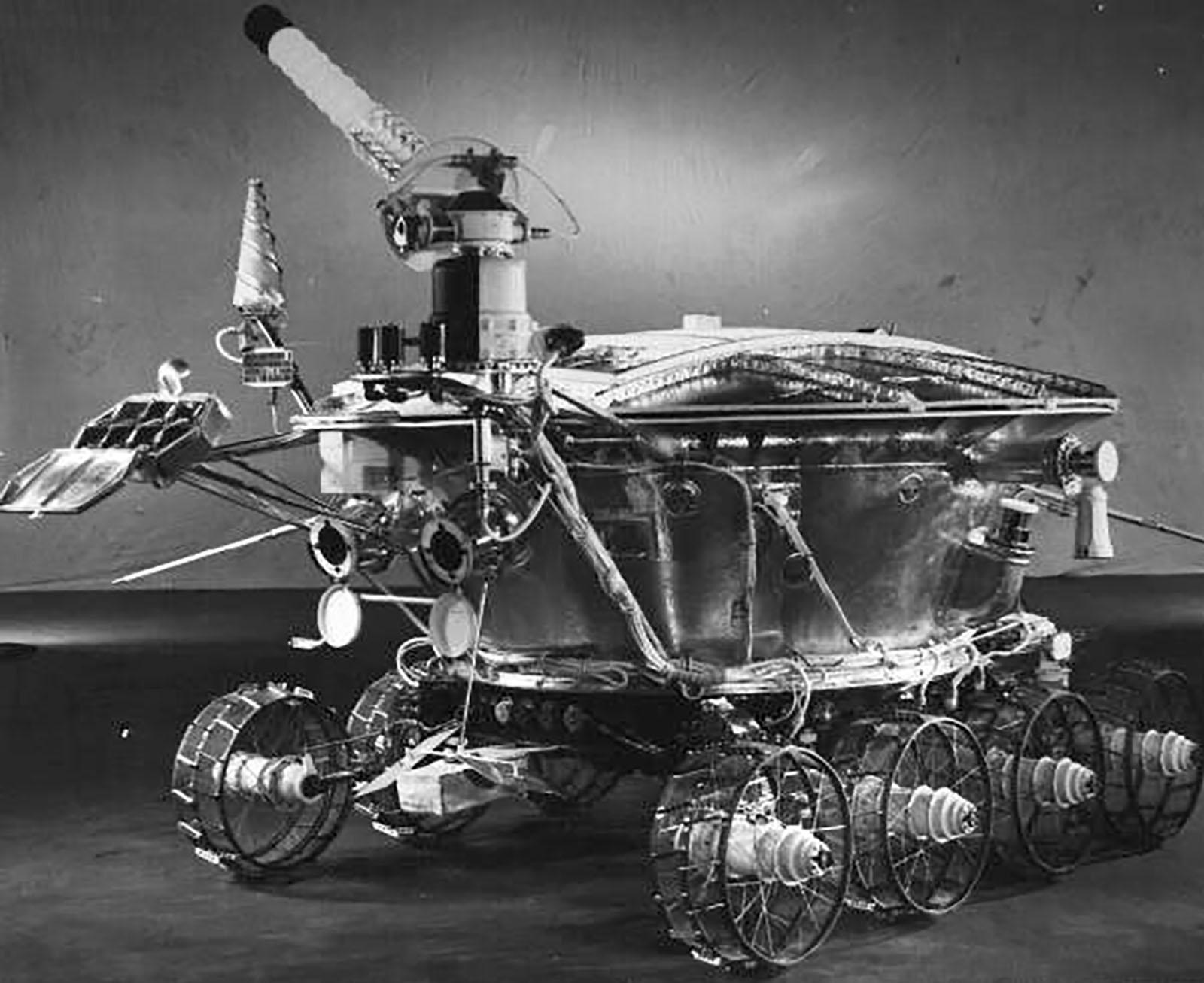 1970 год. Путешествие по луне первого советского «Лунохода»