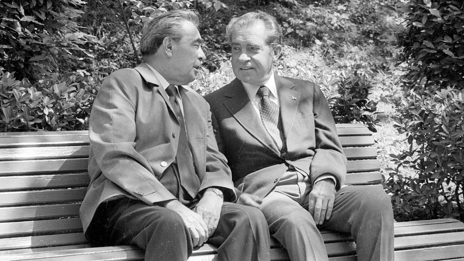 1972 год. Визит в СССР президента США Ричарда Никсона