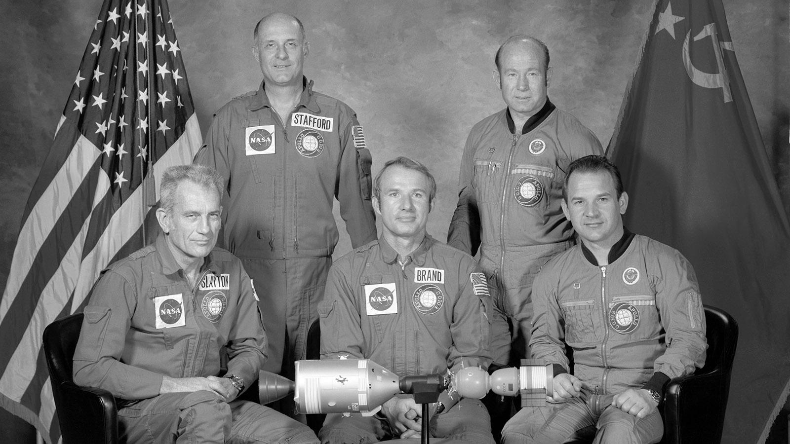 1975 год. Стыковка космических кораблей «Союз-19» и «Аполлон»