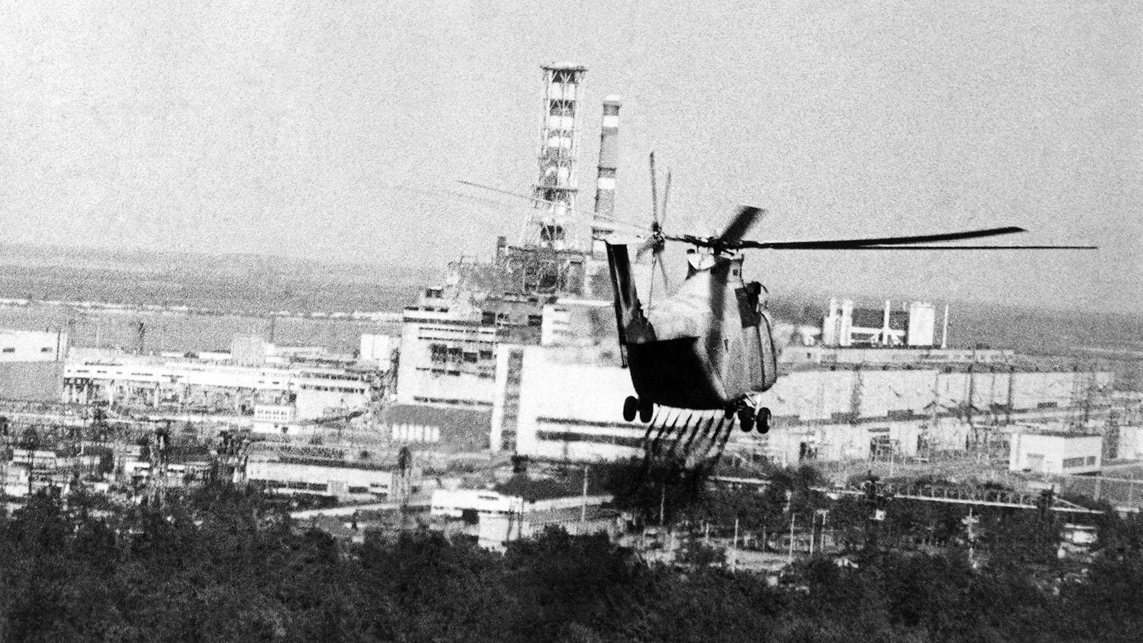 1986 год. Авария на Чернобыльской АЭС