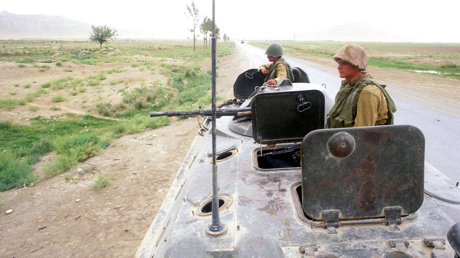 1979 год. Война в Афганистане