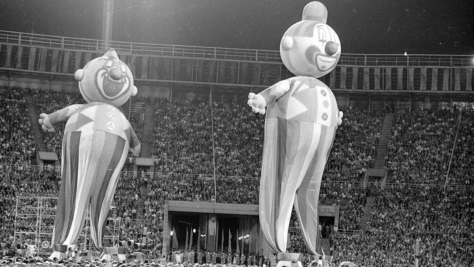 1980 год. «Олимпиада-80» В Москве