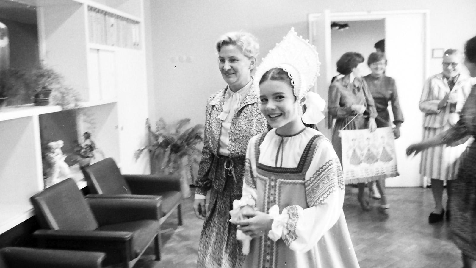 1983 год. Письмо американской школьницы Саманты Смит Юрию Андропову