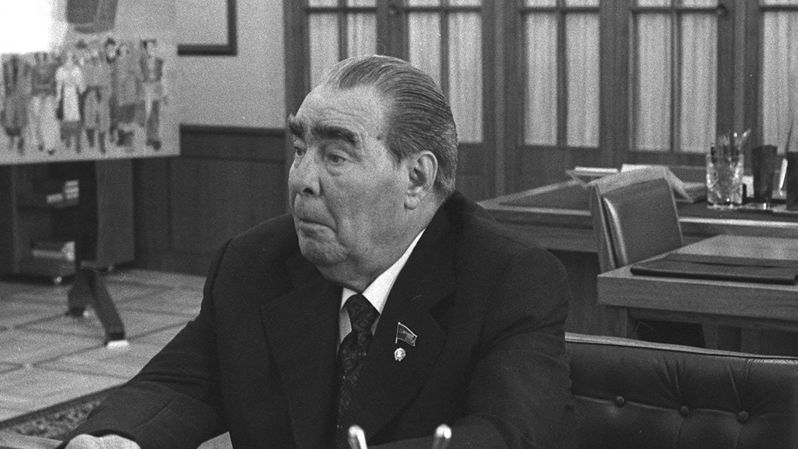1982 год. Скончался Л. И. Брежнев