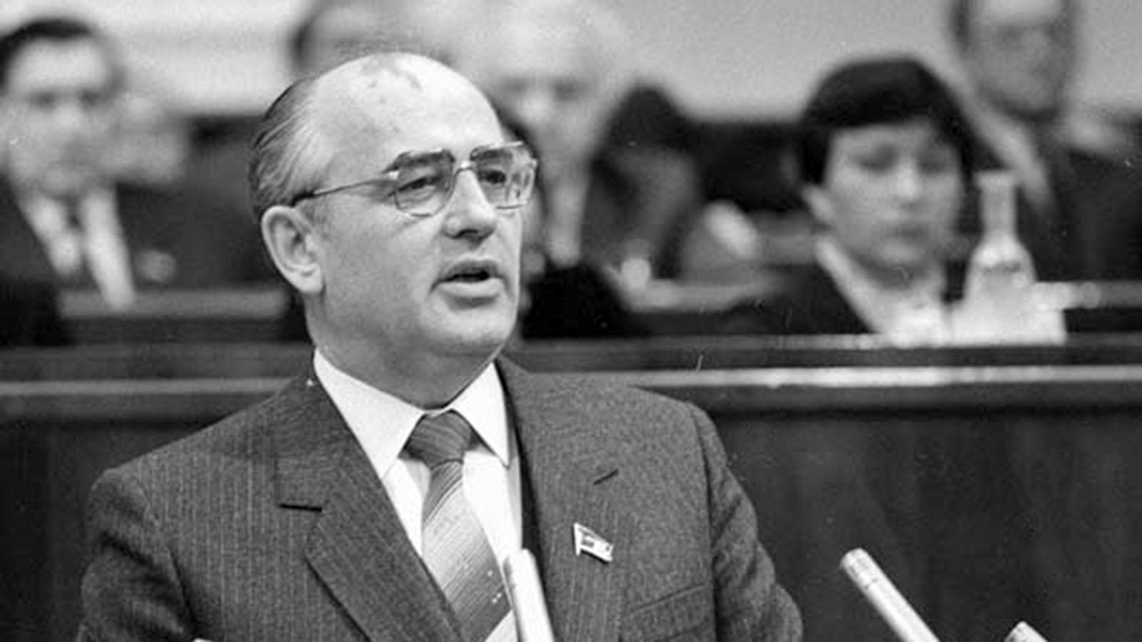 1985 год. Избрание Михаила Горбачева Генеральным секретарем ЦК КПСС