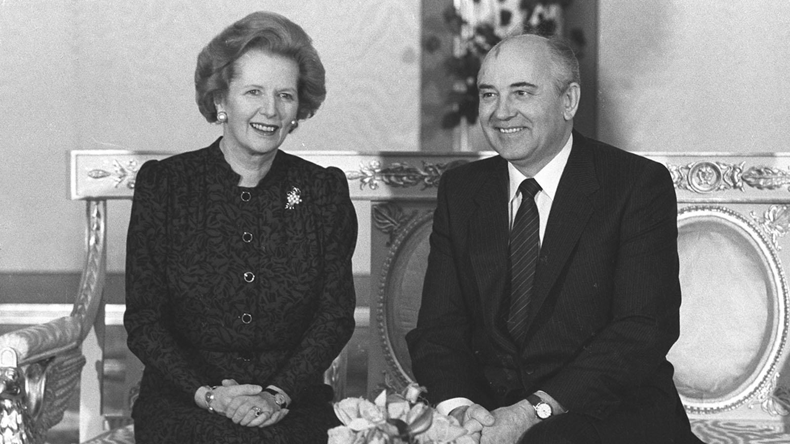1984 год. Визит секретаря ЦК КПСС Михаила Горбачева в Лондон