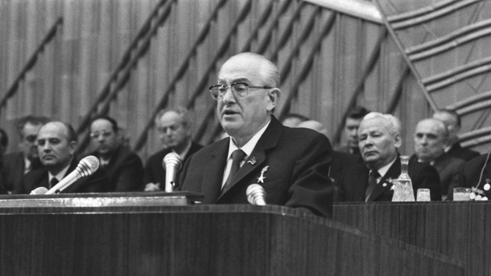1982 год. Юрий Андропов
