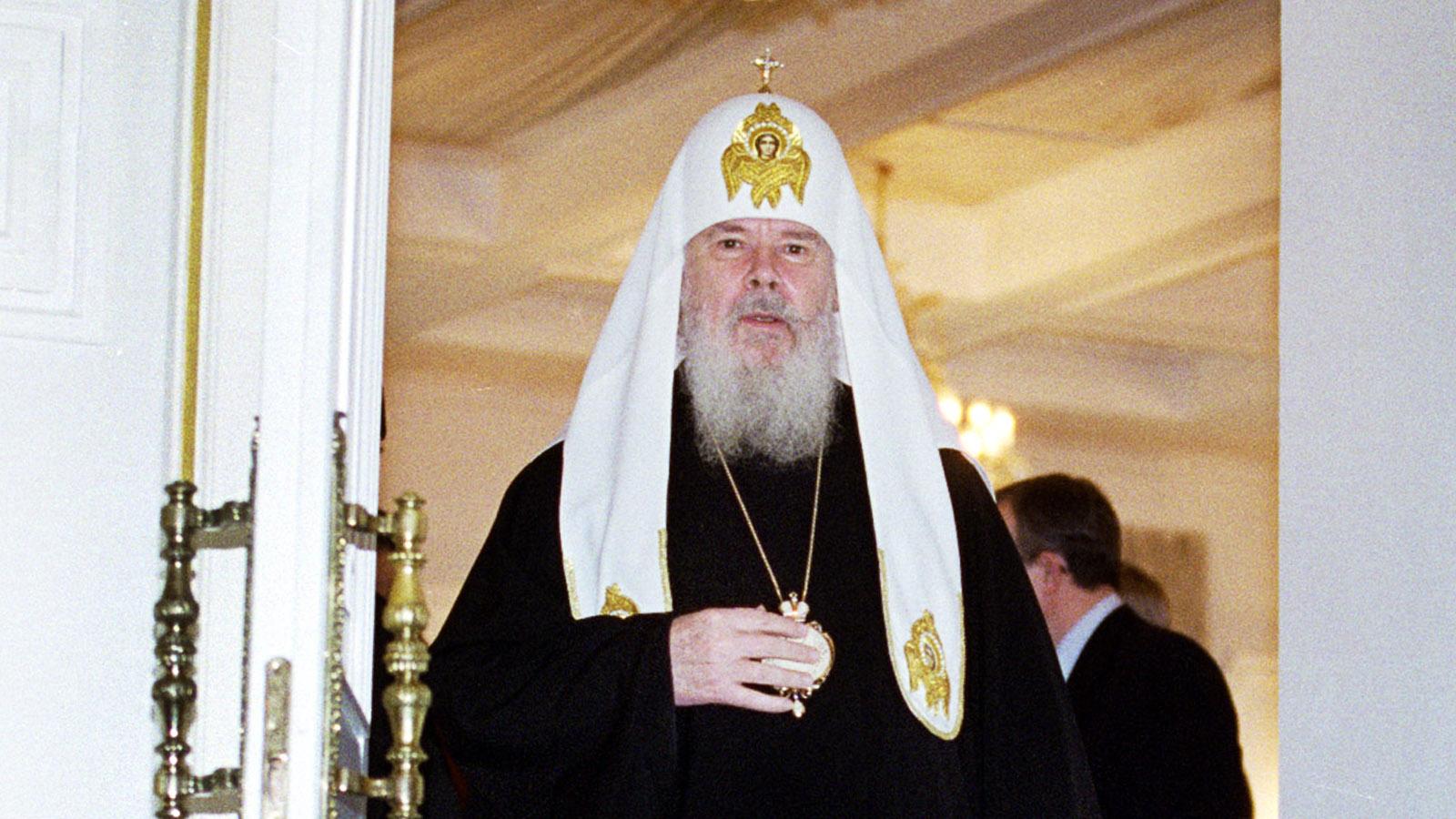 1990 год. Патриарх Алексий II