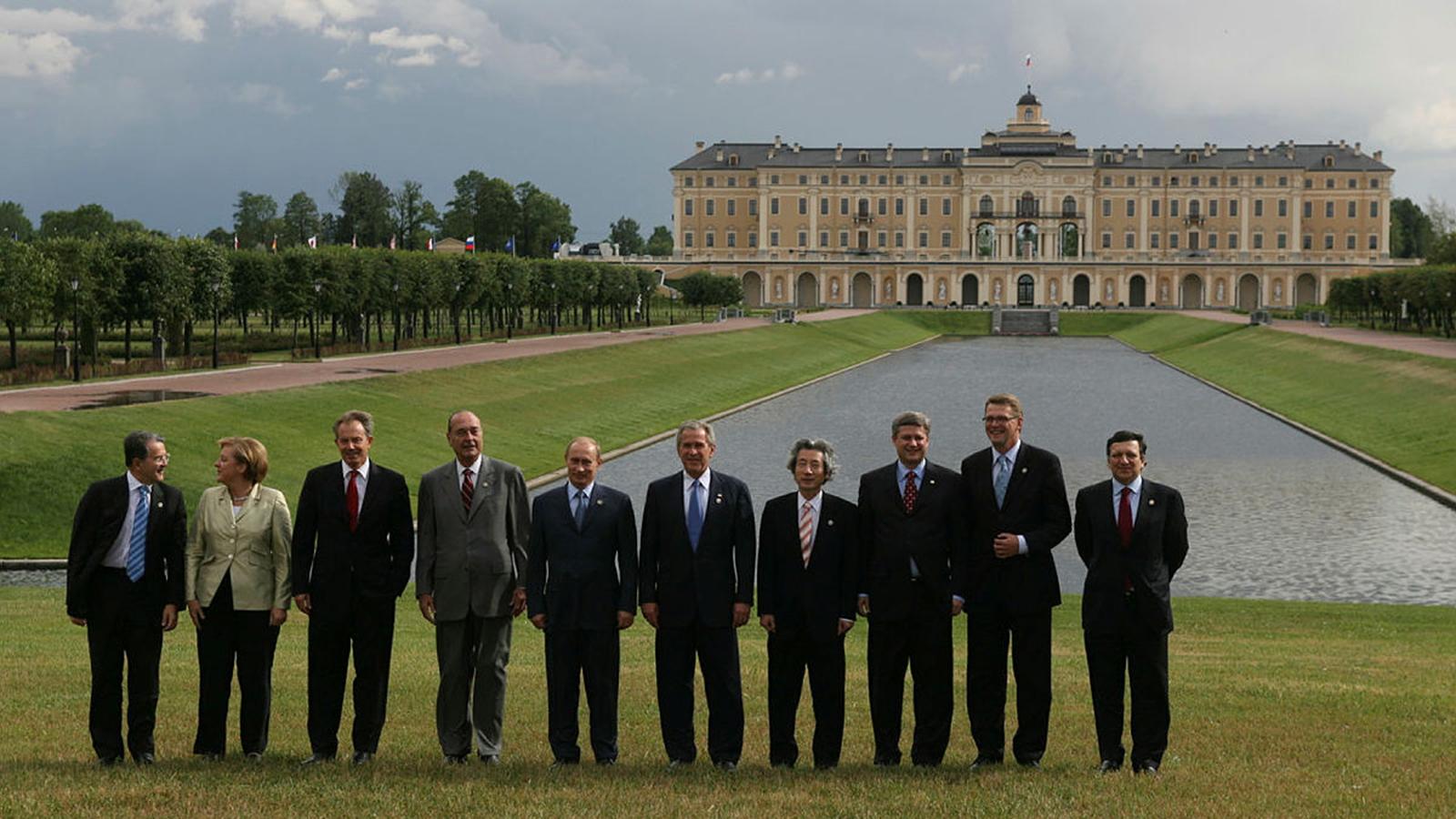 2006 год. 32-й саммит G8 в Санкт-Петербурге