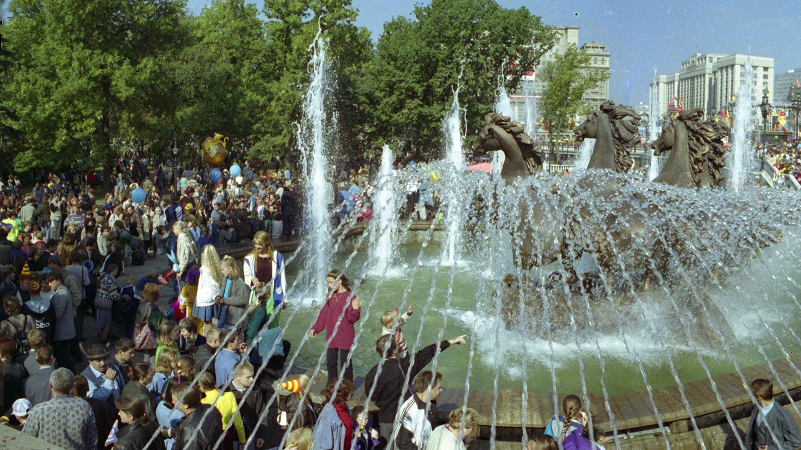 1997 год. Празднование 850-летия Москвы