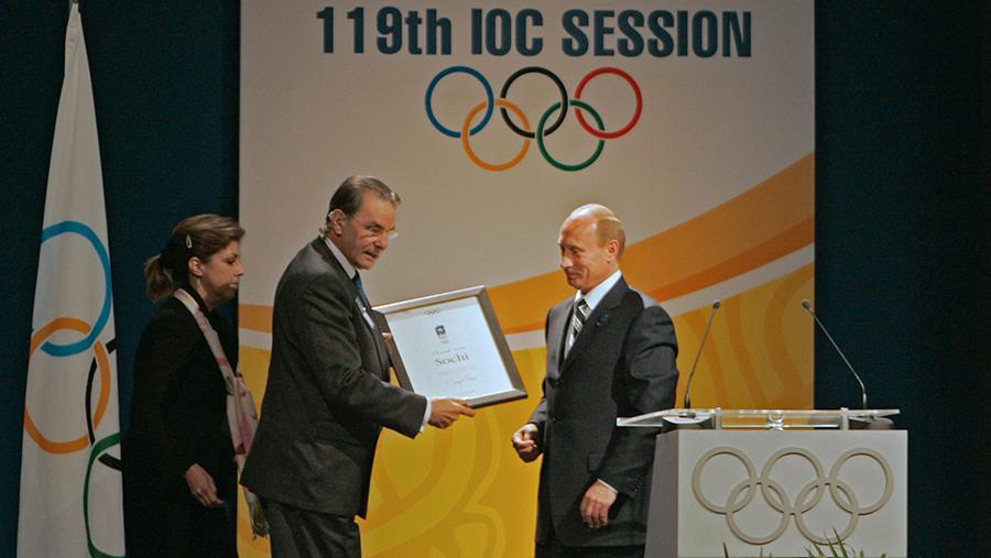 2007 год. МОК выбрал Сочи столицей зимней Олимпиады 2014 года