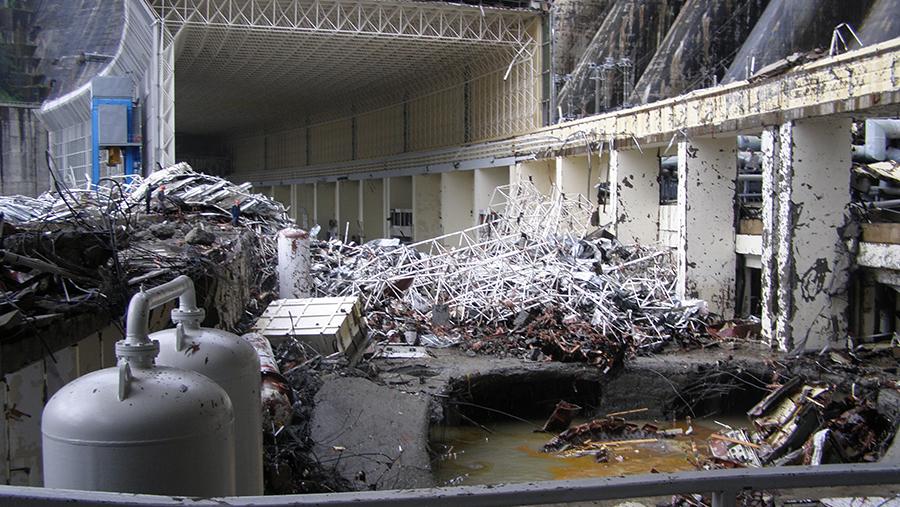 2009 год. Авария на Саяно-Шушенской ГЭС