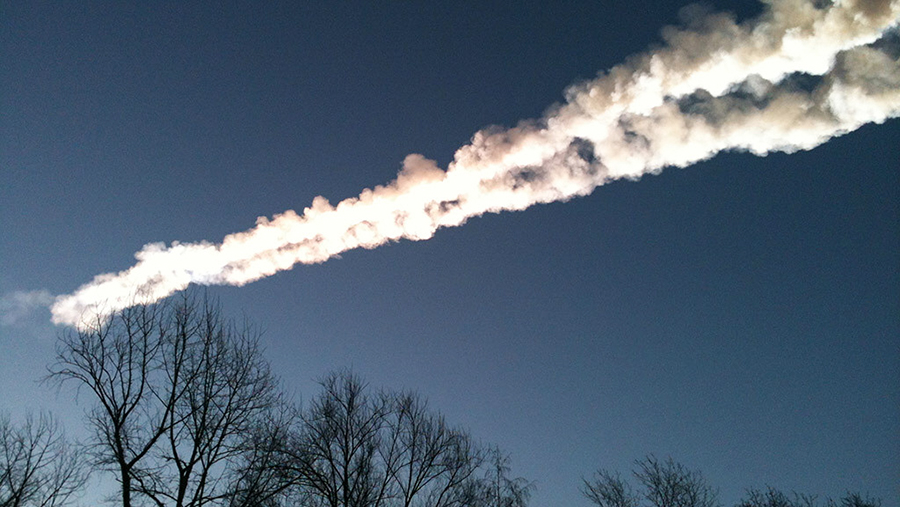 2013 год. Падение метеорита